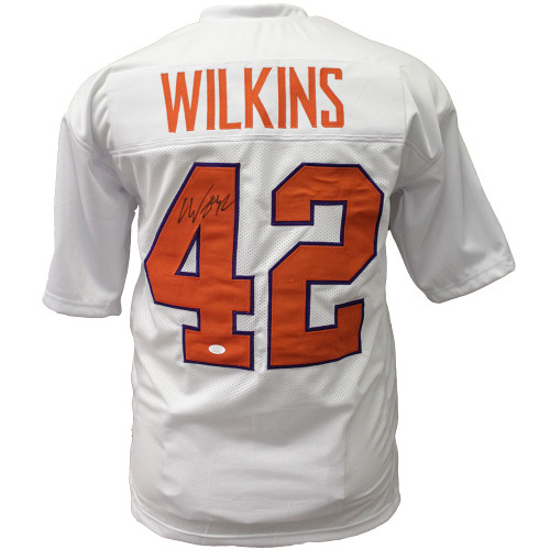 Christian Wilkins Clemson Tigers Football Jersey White