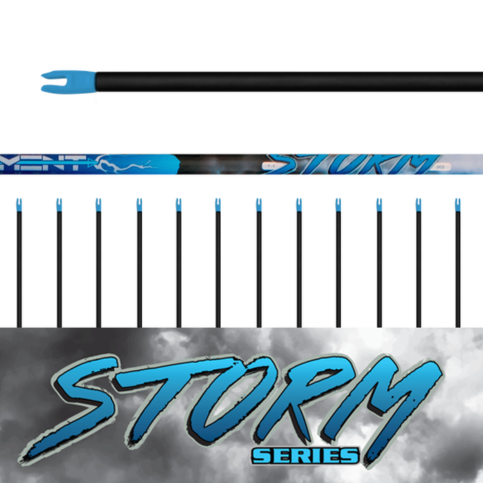 Storm Arrows (.003) 12Pk - Bare Shafts