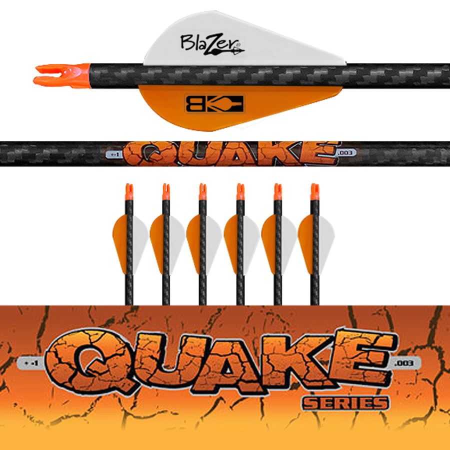 (6) Fletched Quake Arrows