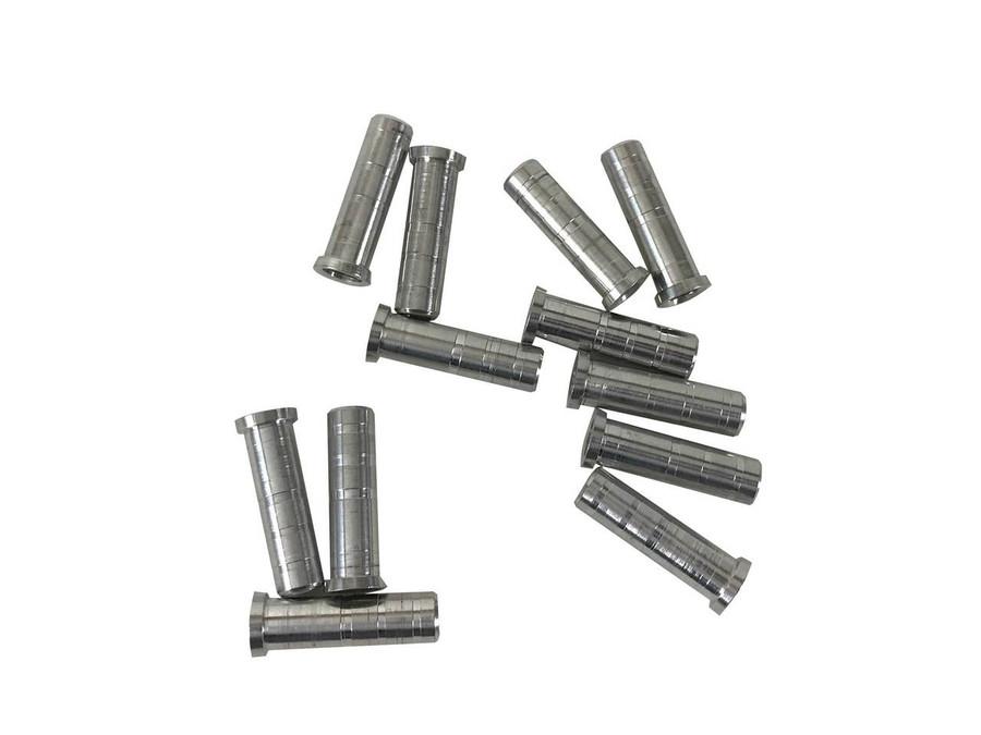 12 Pack of .246 Aluminum Inserts