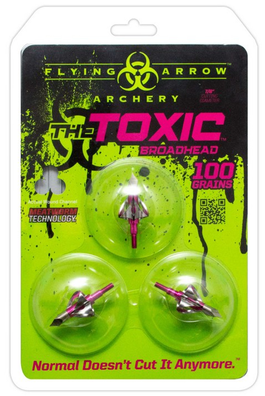 TOXIC 100 Grn Pink