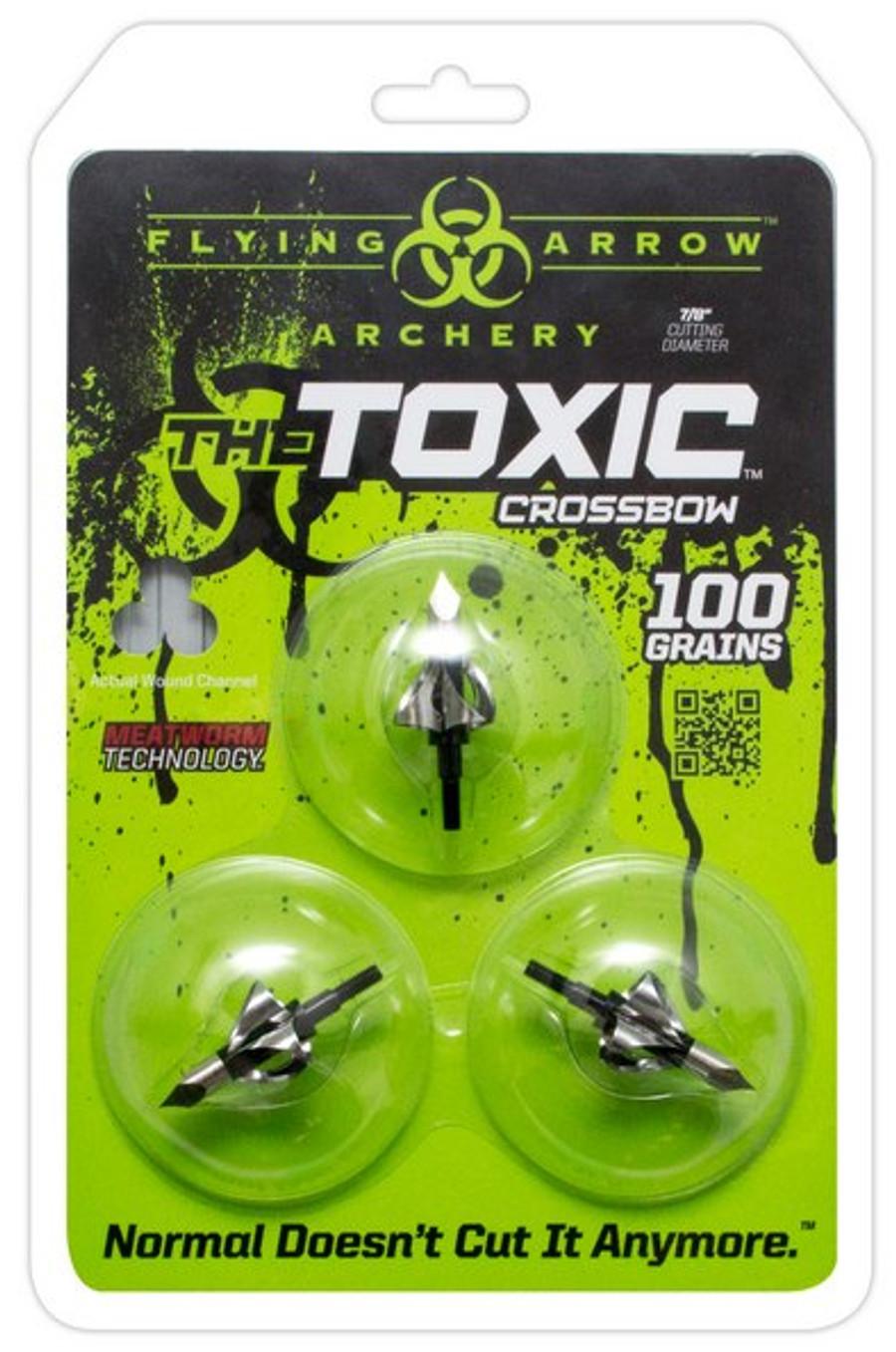 TOXIC 100 GRAIN CROSSBOW MODEL Black