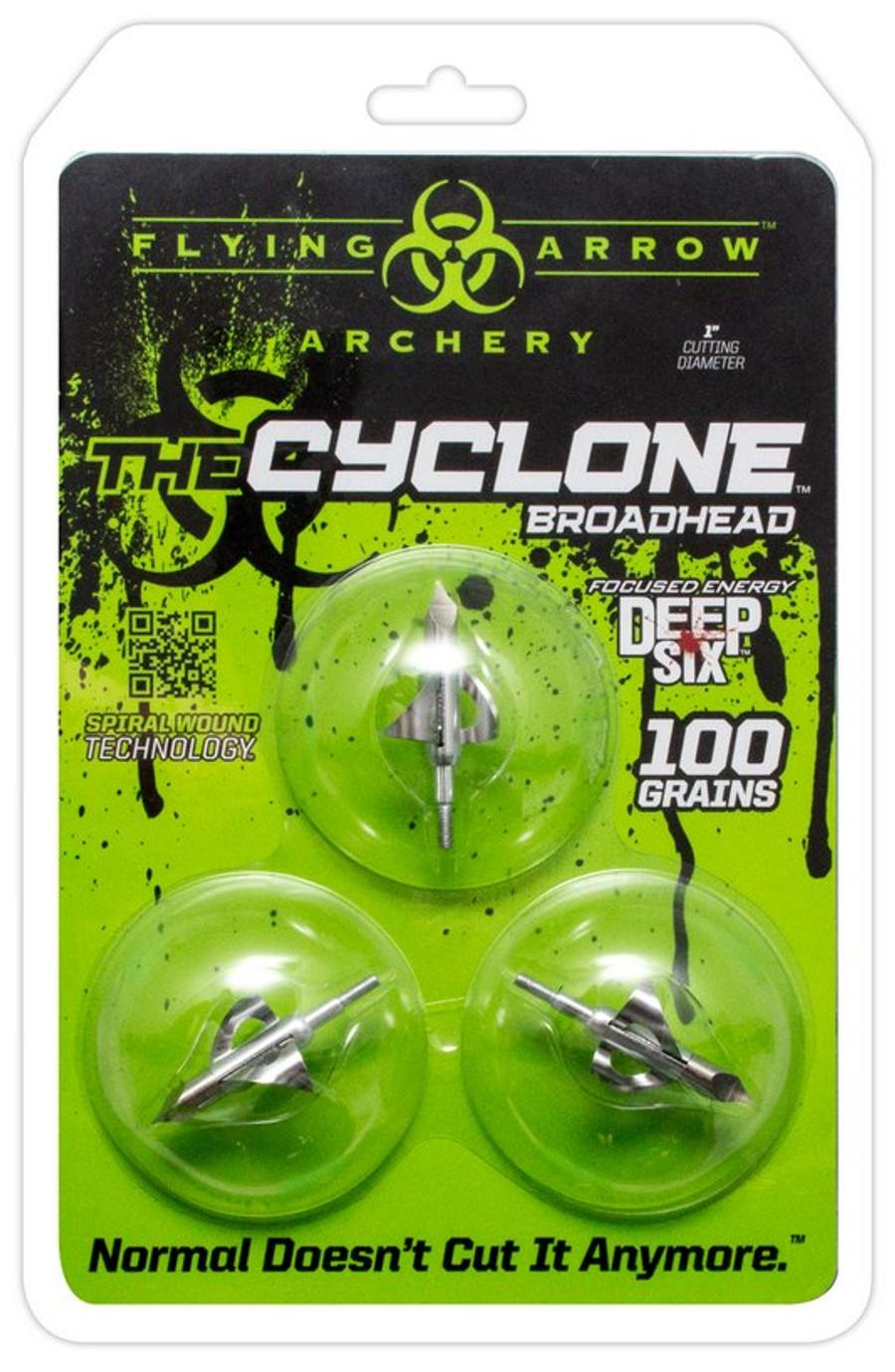 CYCLONE 100 Grn-Deep 6