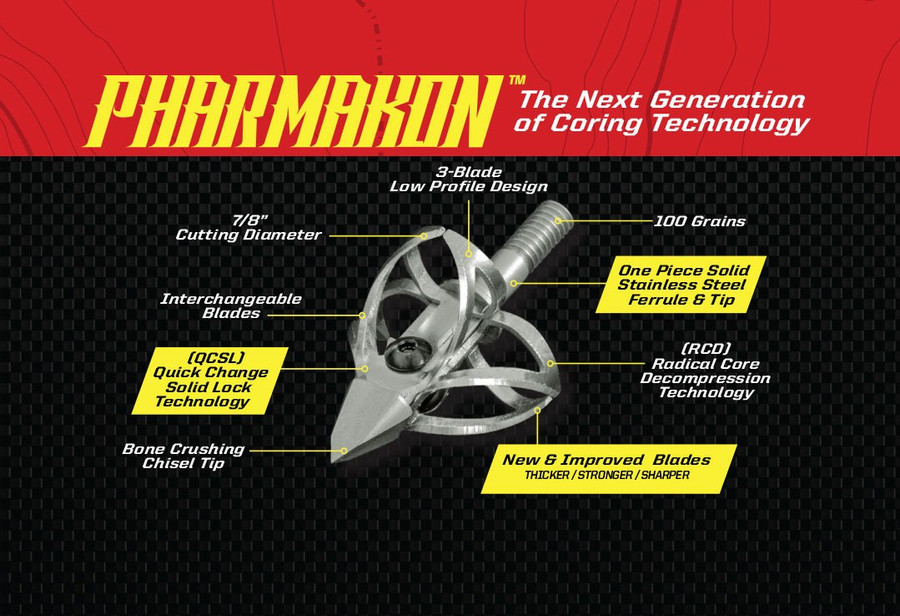 PHARMAKON - 3 Blade 100 Grn