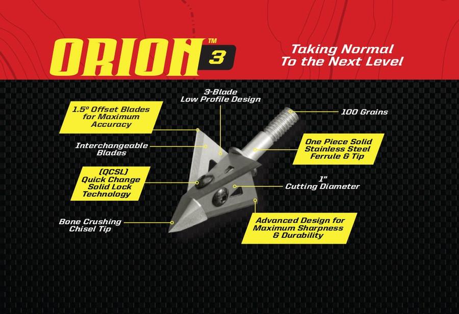 ORION 3 - 3 BLADE 100 GRAIN