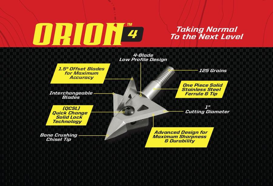 ORION 4 - 4 BLADE 125 GRAIN