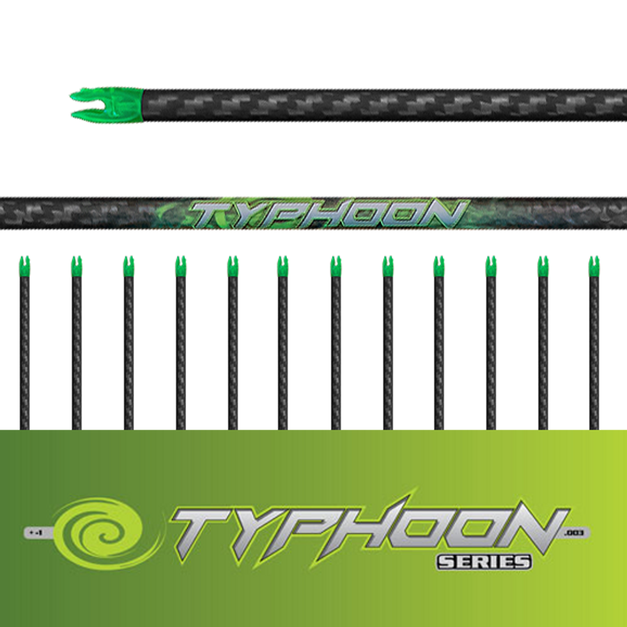 (12) Unfletched Typhoon Arrows