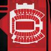 Texas Tech Red Raiders - Jones AT&T Stadium City Print