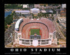 Ohio Stadium Aerial Poster