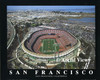 Candlestick Park Aerial Poster