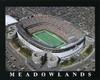 Giants Stadium New York Jets Aerial Poster