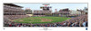 """""""First Pitch"""" Minnesota Twins at Target Field Panoramic Framed Poster"""