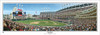 """""""First Pitch at Jacobs Field"""" Panoramic Framed Poster"""