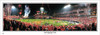 """""""Angels Earn Their Wings"""" World Series Panoramic Framed Poster"""