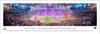 """Super Bowl LI"" New England Patriots vs Atlanta Falcons Panoramic Poster"
