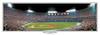 "Atlanta Braves ""Batter Up"" Atlanta Fulton County Stadium Panoramic Framed Poster"