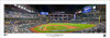 """2020 World Series """"First Pitch"""" Globe Life Field Panoramic Poster"""