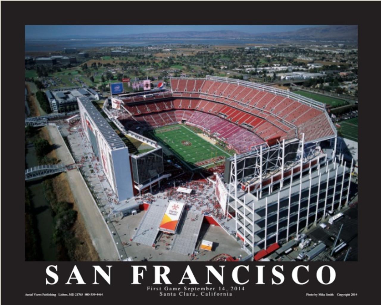 Levi's Stadium Aerial Poster