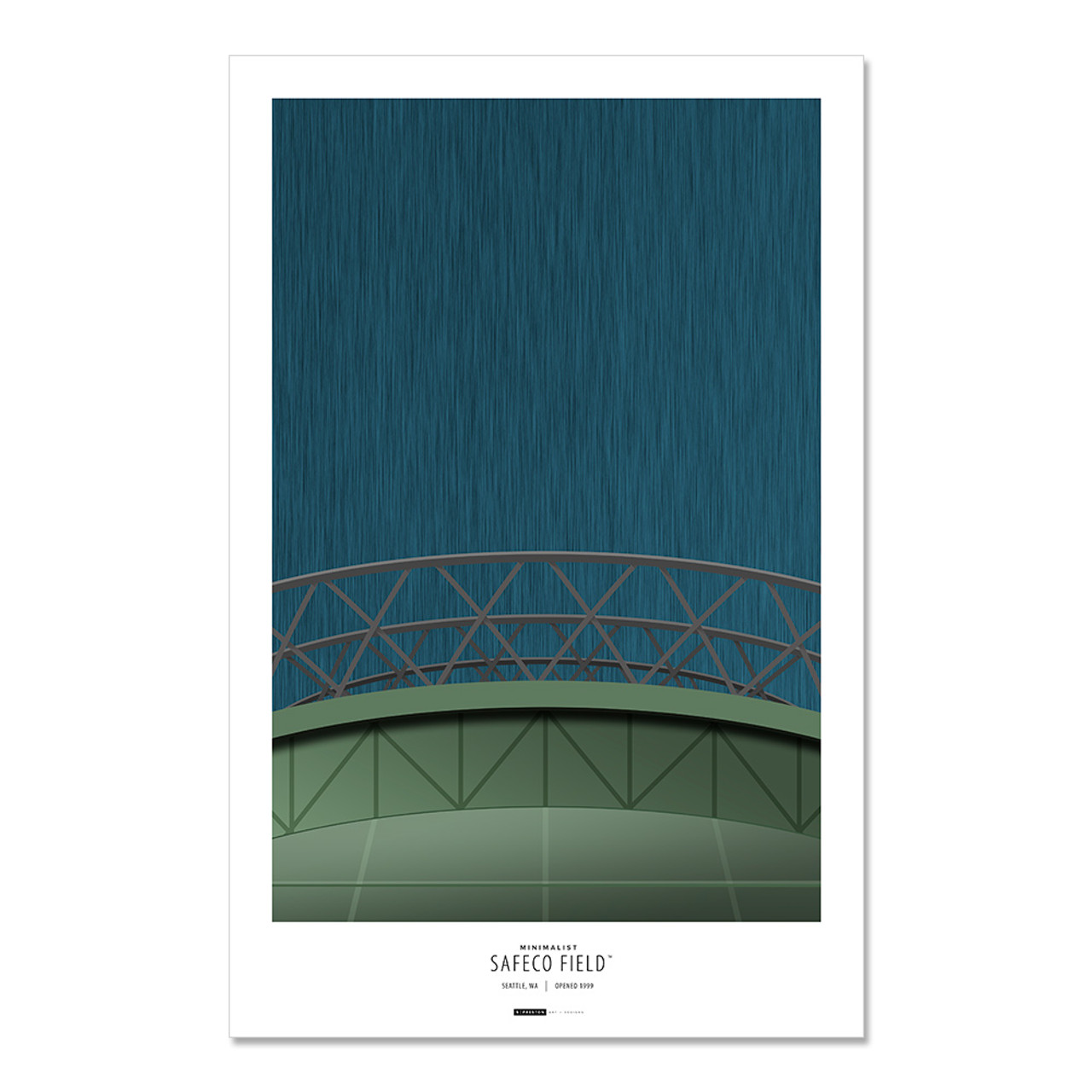 Seattle Mariners - Safeco Field Art Poster