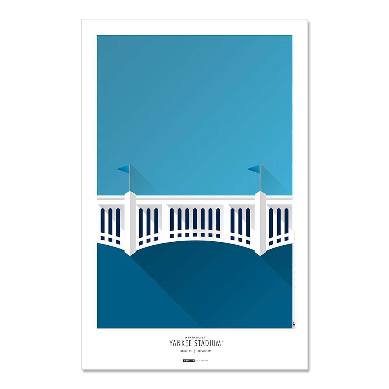 New York Yankees - Yankee Stadium Minimalist Print