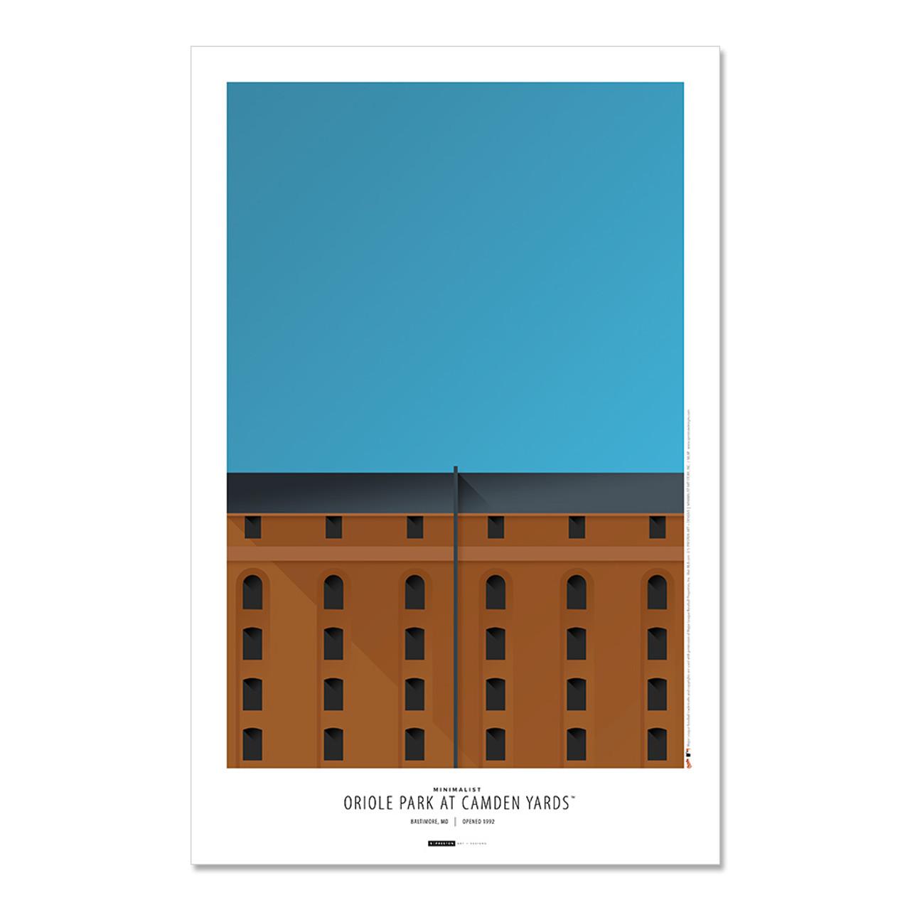 Baltimore Orioles - Camden Yards Art Poster