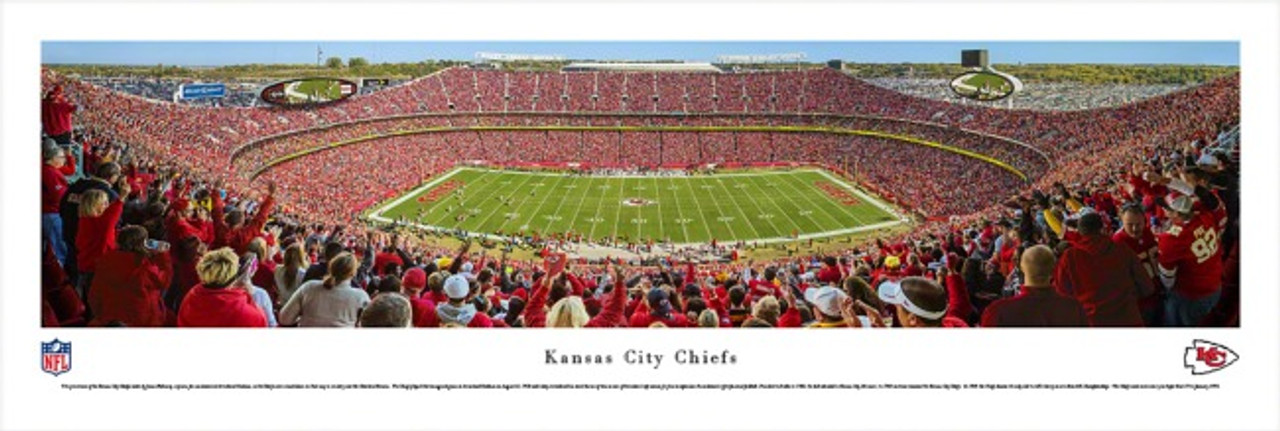 Kansas City Chiefs at Arrowhead Stadium Panorama Poster