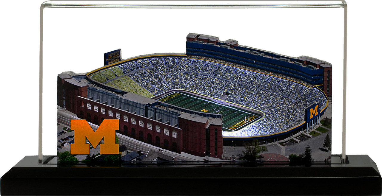Michigan Wolverines/Michigan Stadium 3D Replica