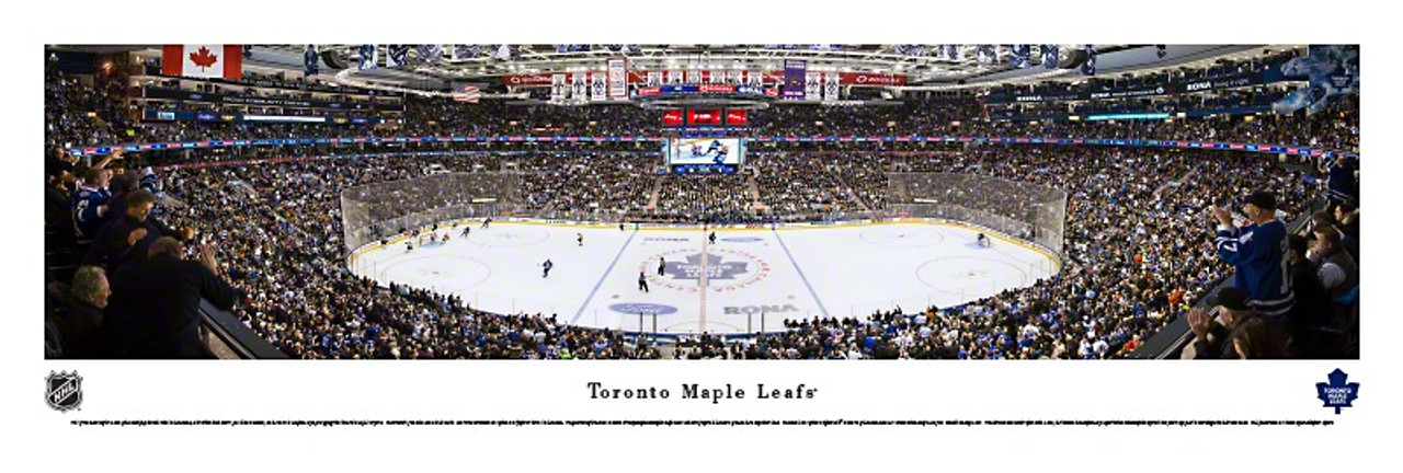 Toronto Maple Leafs at the Air Canada Centre Panoramic Poster