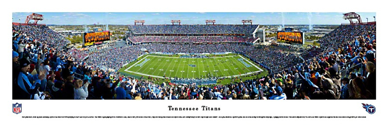 Tennessee Titans at Nissan Stadium Panorama Poster