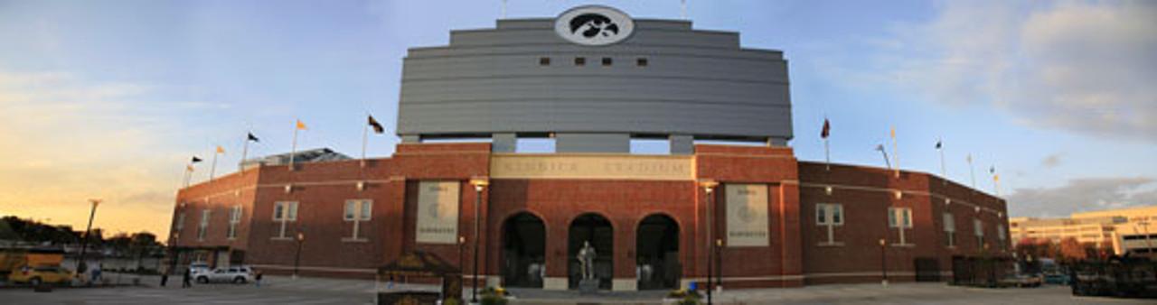 """Exterior"" Kinnick Stadium Panoramic Poster"