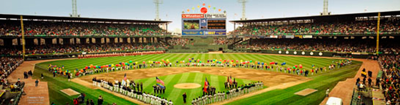Chicago White Sox Opening Day 1989 at Comiskey Park Panoroamic