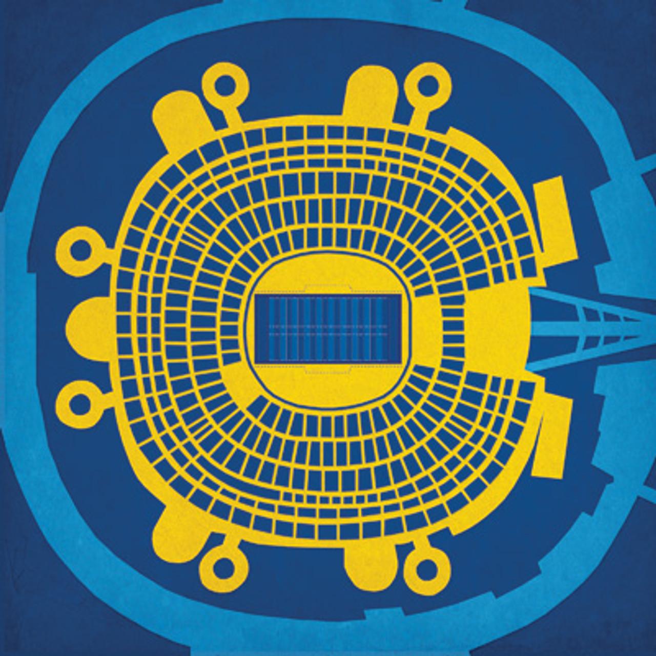 Qualcomm Stadium - San Diego Chargers City Card