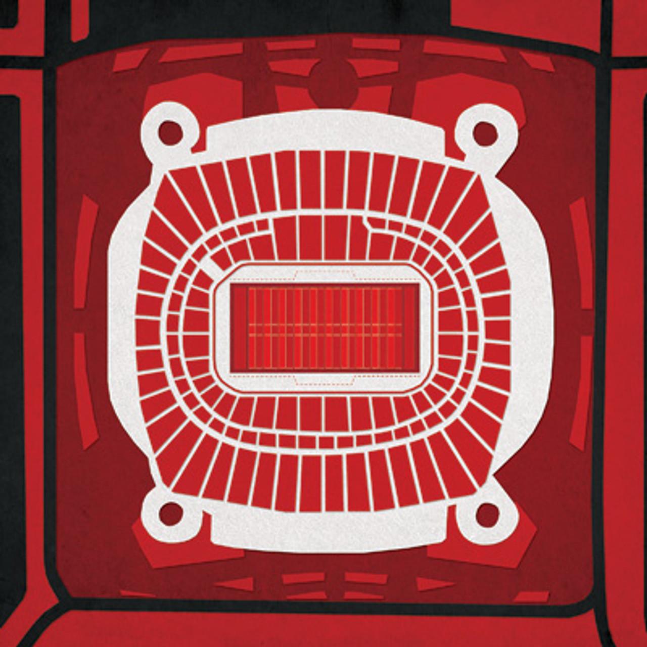 Arrowhead Stadium - Kansas City Chiefs City Print