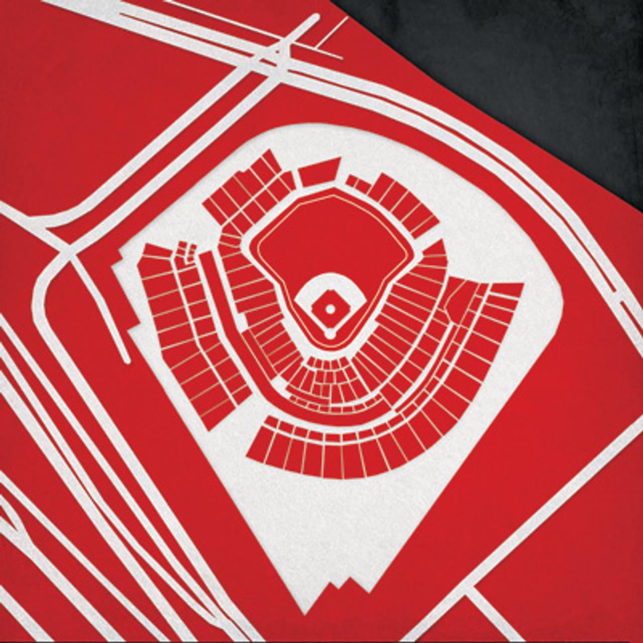 Great American Ball Park - Cincinnati Reds City Print