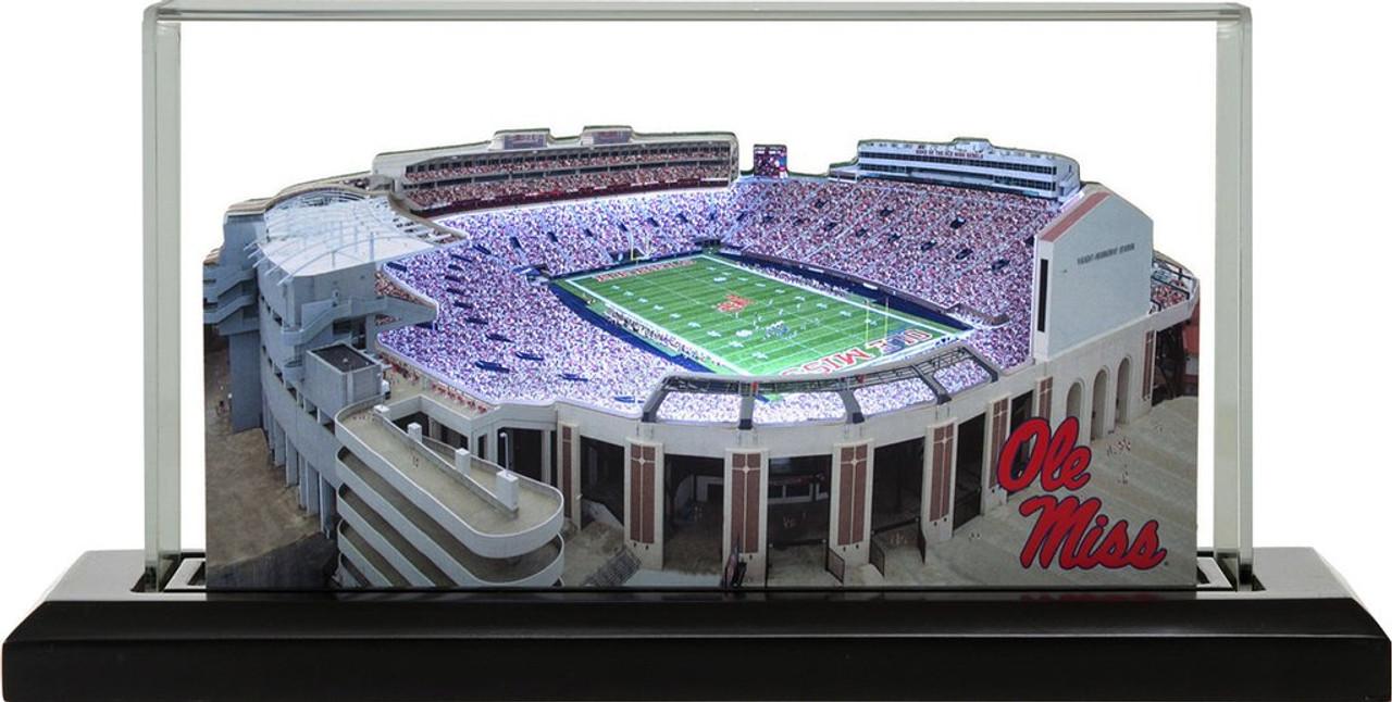 Ole Miss Rebels/Vaught-Hemingway Stadium 3D Stadium Replica