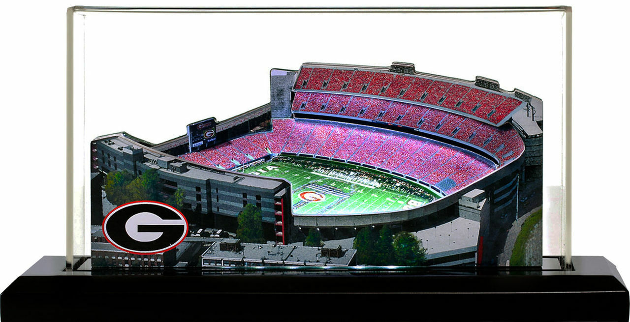Georgia Bulldogs/Sanford Stadium 3D Stadium Replica