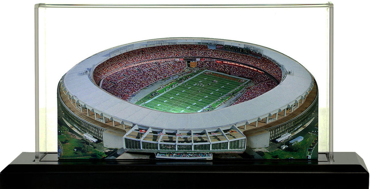 RFK Stadium Washington Redskins 3D Stadium Replica
