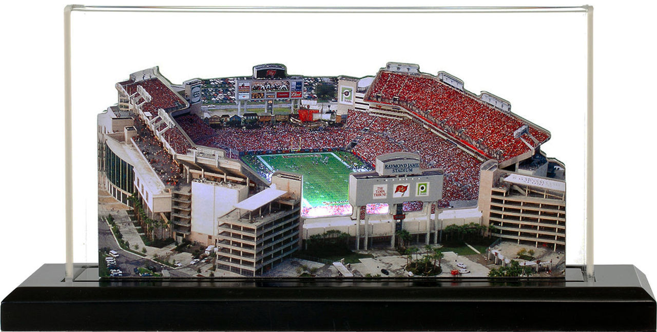 raymond james stadium tamap bay buccaneers 3d stadium replica the stadium shoppe raymond james stadium tamap bay buccaneers 3d stadium replica