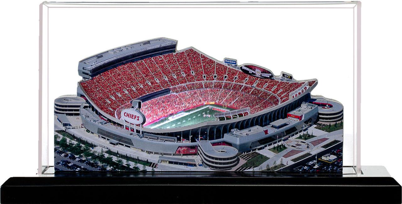 Arrowhead Stadium Kansas City Chiefs 3D Stadium Replica