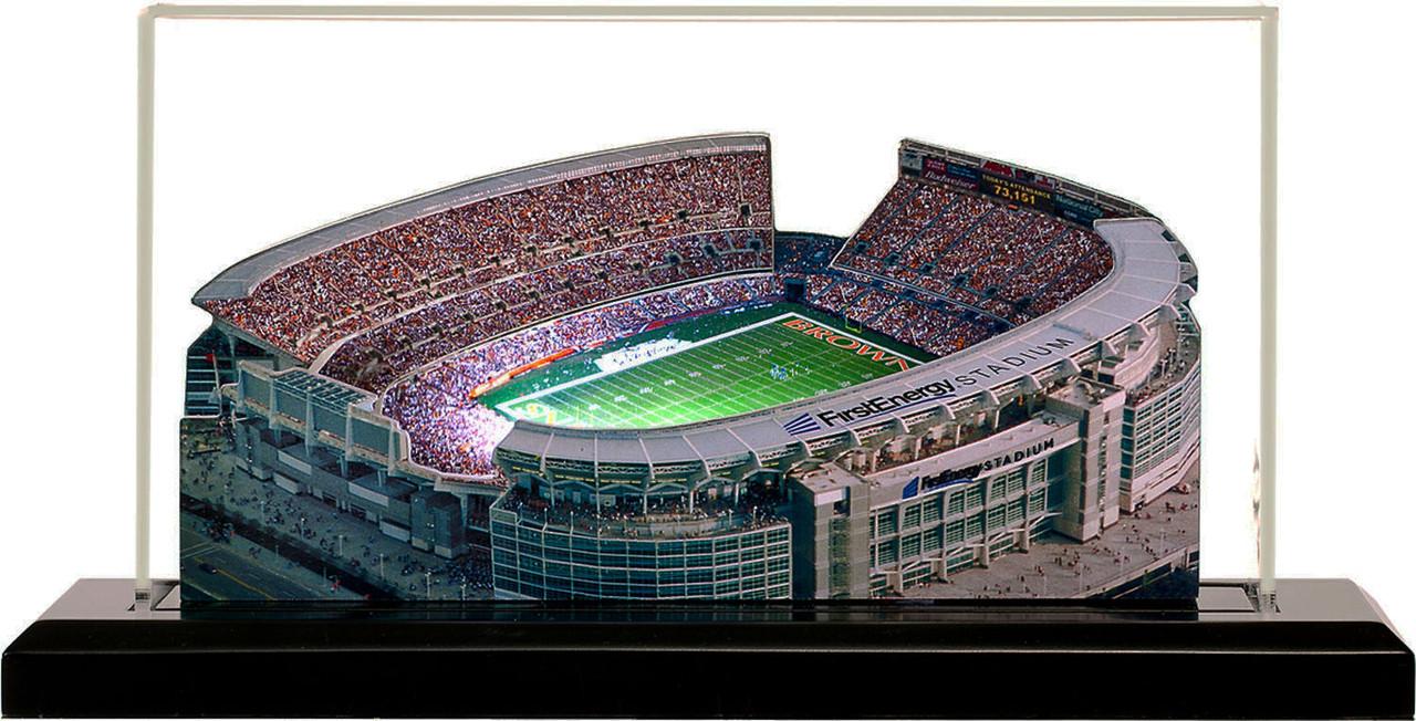 FirstEnergy Stadium Cleveland Browns 3D Stadium Replica