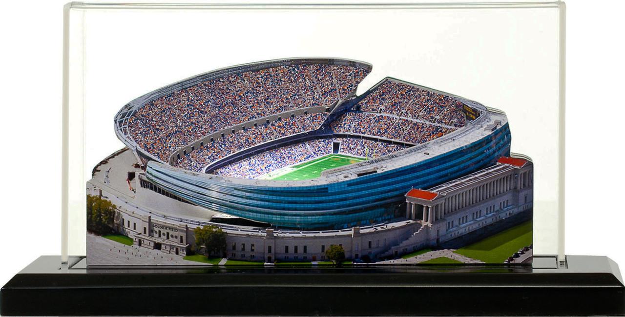 Soldier Field Chicago Bears 3D Stadium Replica