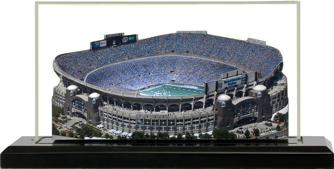 Bank of America Stadium Carolina Panthers 3D Stadium Replica