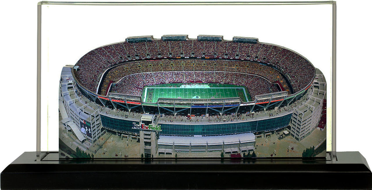 FedEx Field Washington Redskins 3D Stadium Replica