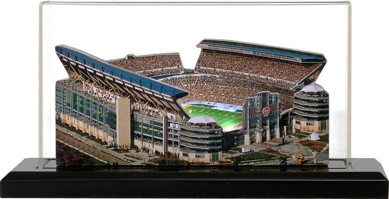 Heinz Field Pittsburgh Steelers 3D Stadium Replica