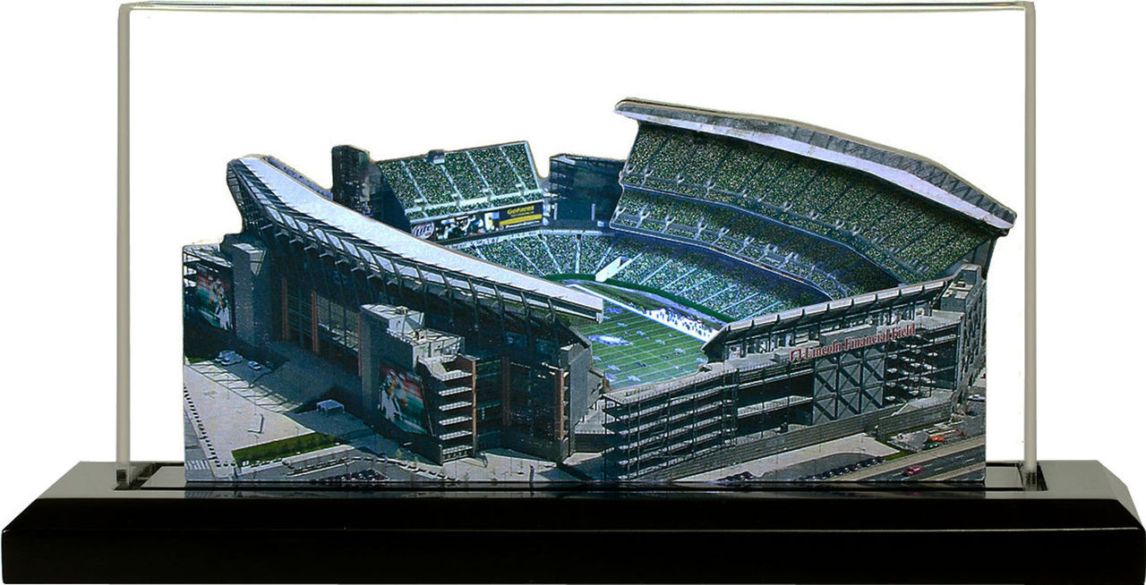 Lincoln Financial Field Philadelphia Eagles 3D Stadium Replica