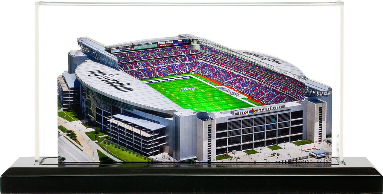 NRG Stadium Houston Texans 3D Stadium Replica