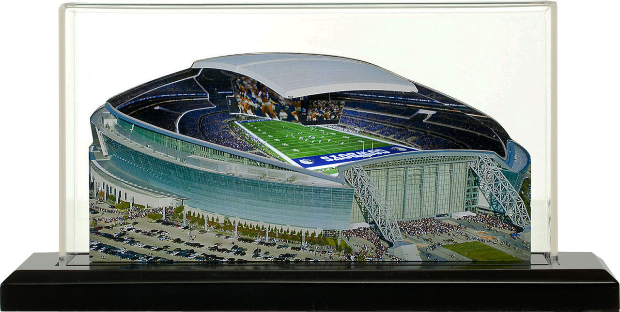 AT&T Stadium Dallas Cowboys 3D Stadium Replica