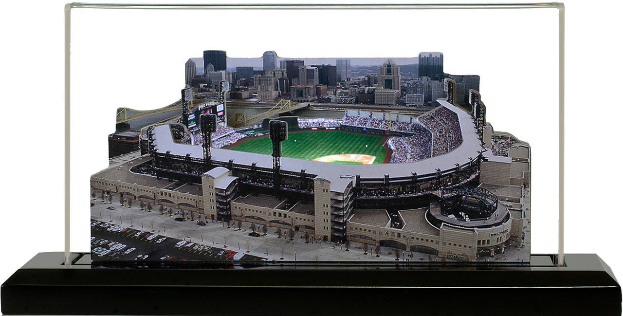 PNC Park Pittsburgh Pirates 3D Ballpark Replica