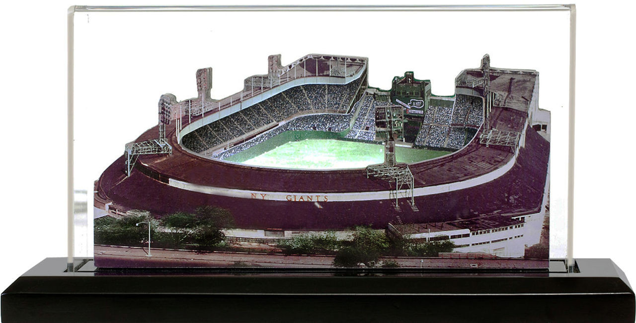 Polo Grounds New York Giants 3D Ballpark Replica