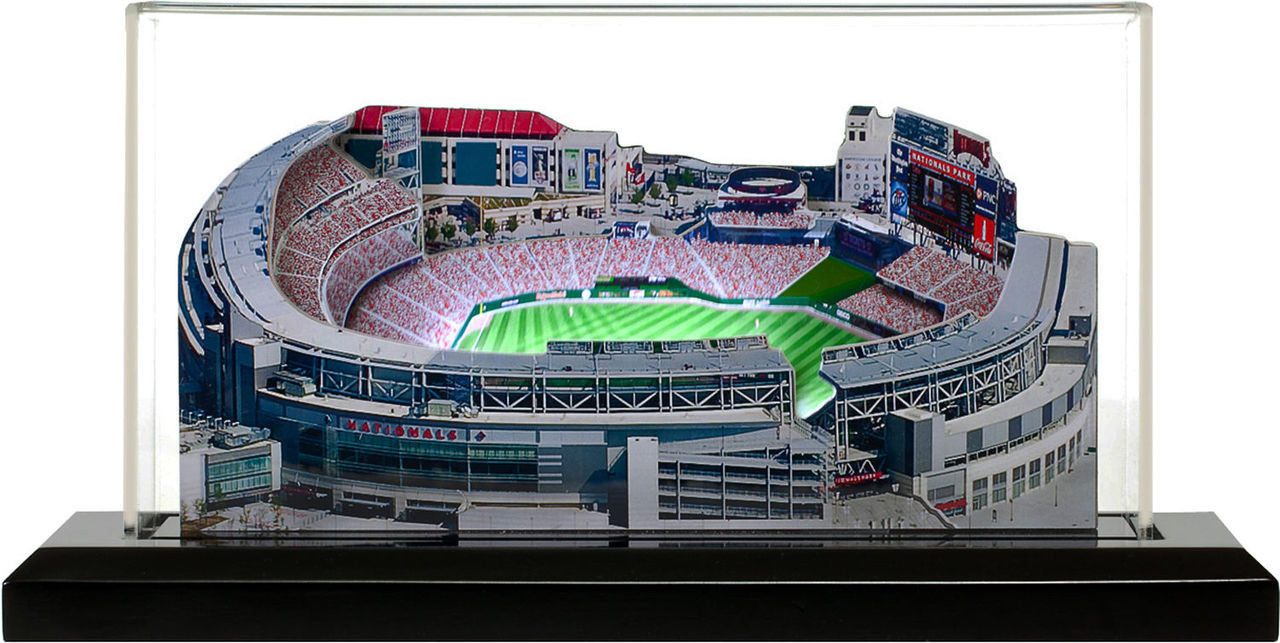 Nationals Park Washington Nationals 3D Ballpark Replica